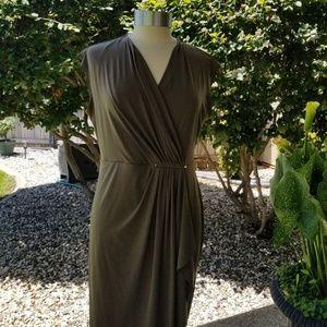 Michael Kors Olive Green Dress Size L